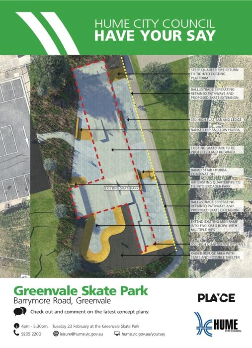 Greenvale Upgrade Consultation