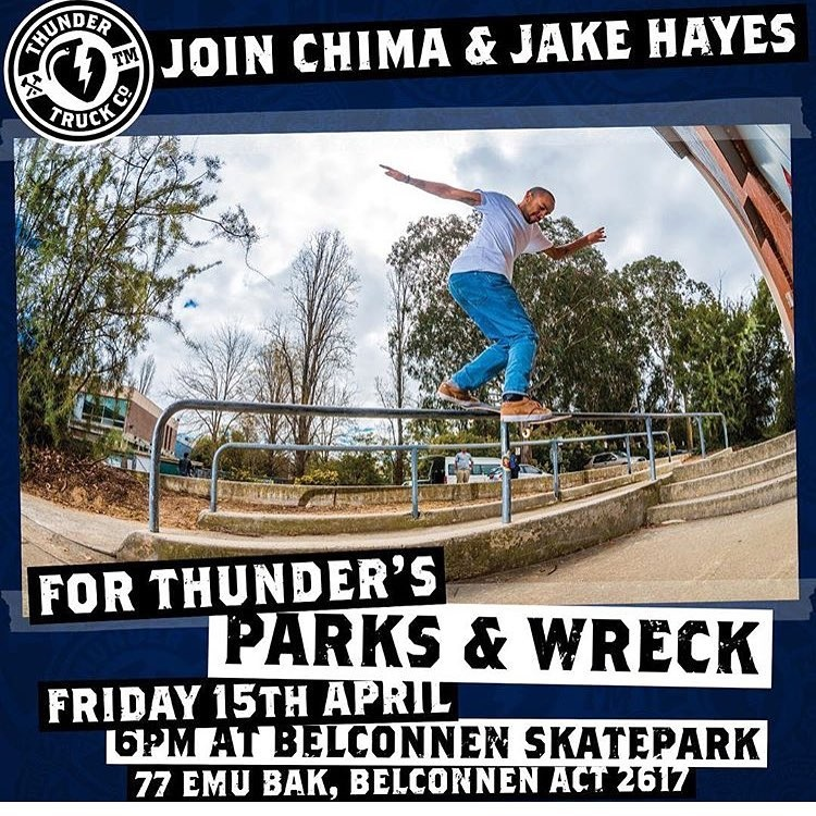 Thunder Parks and Wreck Tomorrow