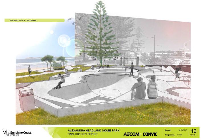 RE: Alex Heads Skate Park Community Consultation