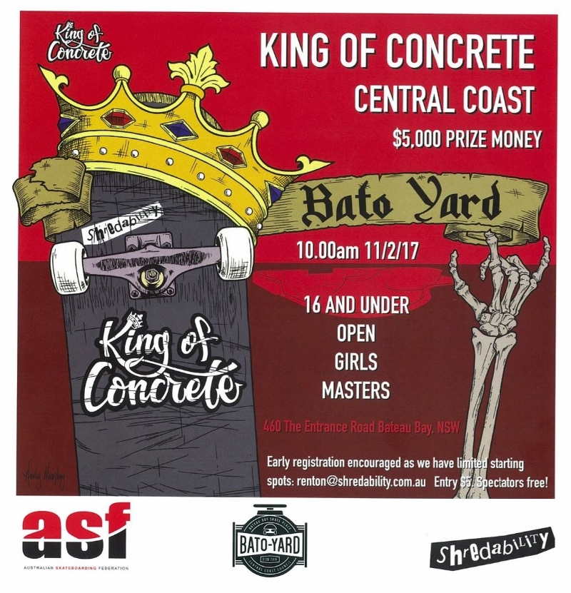 King of Concrete Central Coast