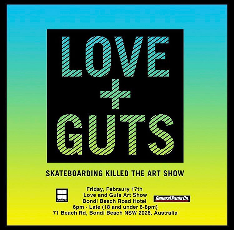 Love and Guts Art Show
