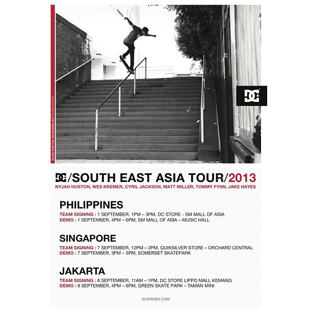 The tour has started! @nyjah_h