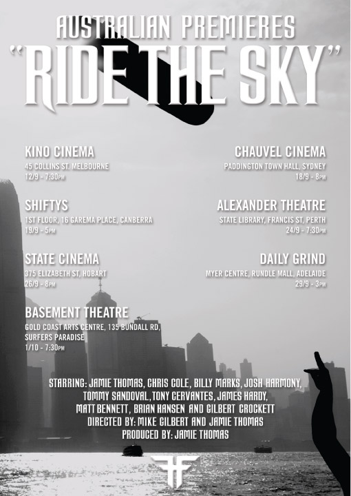 Ride The Sky, This Friday At Shiftys