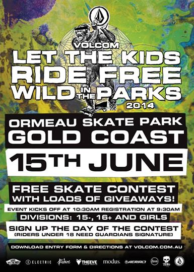 RE: Volcom Let the kids ride