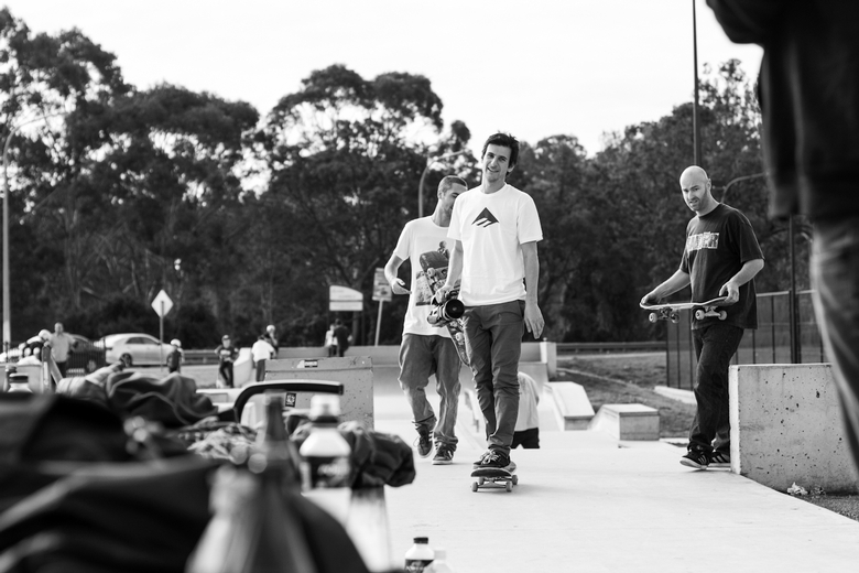 RE: Emerica Park Checkout - Macquarie Fields
