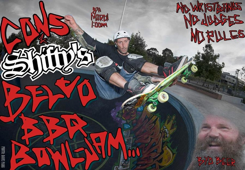 Cons Shiftys Belco BBQ Bowl Jam