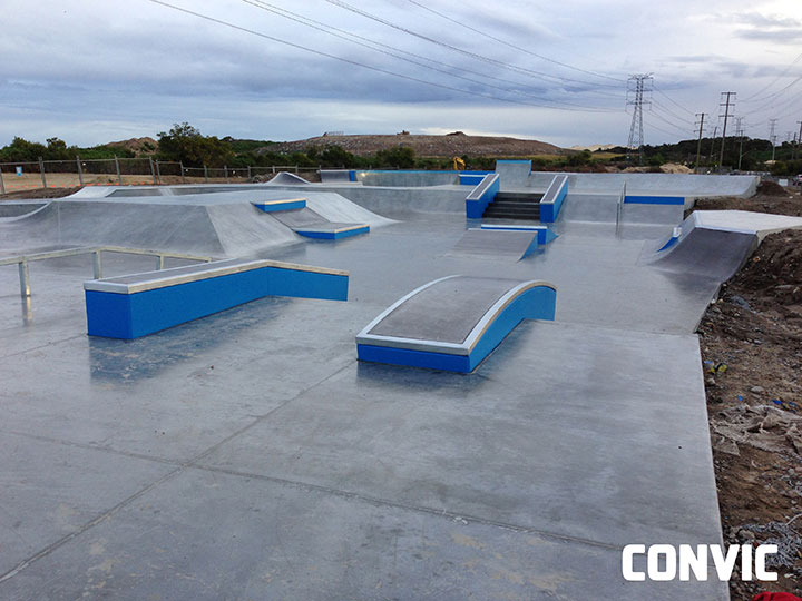 New Green Hill Skate Park Photo's